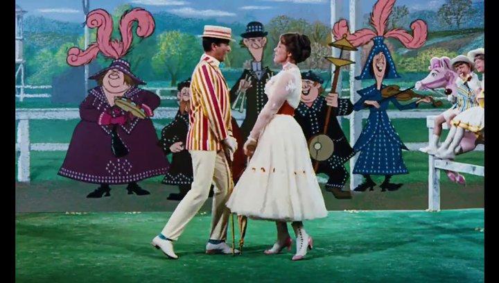 Spezial-Trailer zur Mary Poppins Jubiläumsedition - Supercallifragilistigexpiallegetisch (BluRay-Trailer) Poster