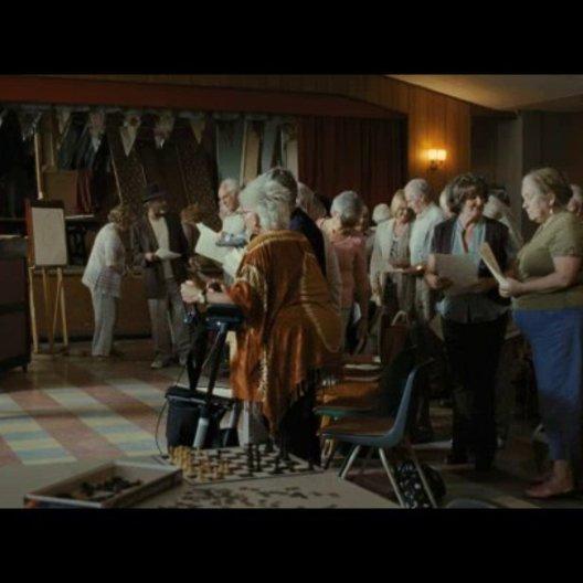 Elisabeth fordert Arthur heraus - Szene Poster
