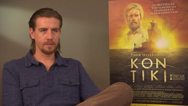 Pal Sverre Hagen darüber was es für ihn bedeutet Thor Heyerdahl zu spielen - OV-Interview Poster