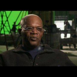 """Samuel L. Jackson - """"Octopus"""" über die Frauen die Octopus umgeben - Interview Poster"""