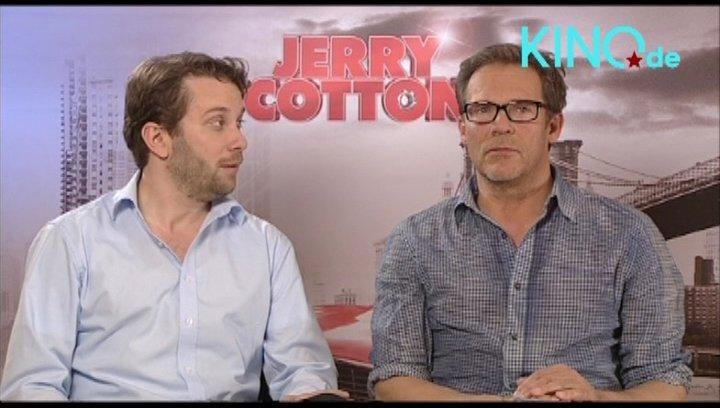 Christian und Christian über JERRY COTTON - Interview Poster