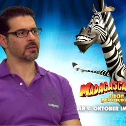 Rick Kavanian - Marty - über die Charaktere von MADAGASCAR - Interview Poster
