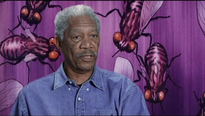 Interview mit Morgan Freeman (Sloan) - OV-Interview Poster