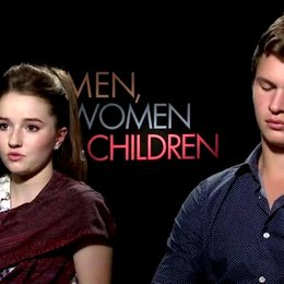 Kaitlyn Dever und Ansel Elgort - Brandy Beltmeyer und Tim Mooney - über den Regisseur Jason Reitman - OV-Interview Poster