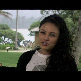 Interview mit Mila Kunis (Rachel Jansen) - OV-Interview Poster
