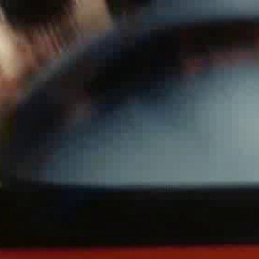 Auto an der Hauswand - Szene Poster