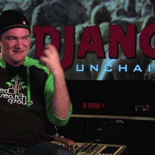 Quentin Tarantino über die Dreharbeiten in Wyoming - OV-Interview Poster