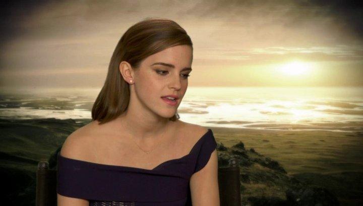 Emma Watson - Ila - was sie an dem Projekt reizte - OV-Interview Poster