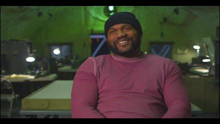 """Quinton """"Rampage"""" Jackson - """"B.A. Baracus"""" über den Unterschied, zwischen der TV-Serie und dem Film - OV-Interview Poster"""
