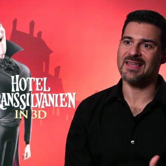 Rick Kavanian über das Hotel Transsilvanien Teil 1 - Interview Poster
