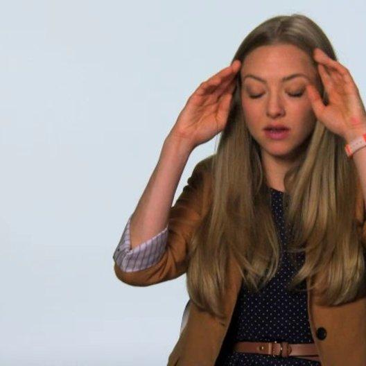 Amanda Seyfried über das Drehbuch und die Geschichte - OV-Interview Poster