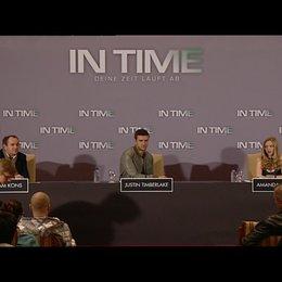 PK mit Amanda Seyfried und Justin Timberlake 3 - Pressekonferenz Poster