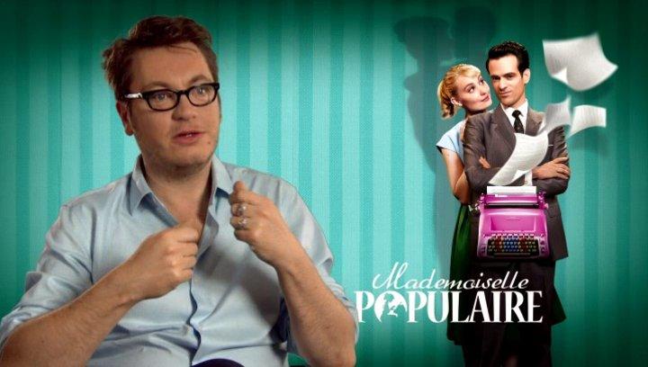 Regis Roinsard (Regisseur) über die Vorbereitung mit den Hauptdarstellern - OV-Interview Poster