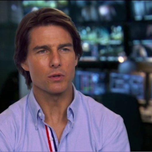 TOM CRUISE - Ethan Hunt - über das Team - OV-Interview Poster