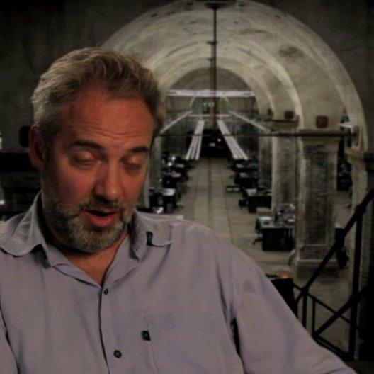 Sam Mendes über aufregende Dreharbeiten - OV-Interview Poster