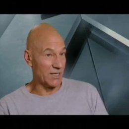 Patrick Stewart (Professor Charles Xavier) - Interview Poster