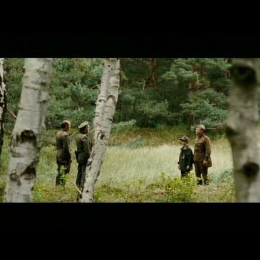Die russischen und deutschen Soldaten verhandeln - Szene Poster