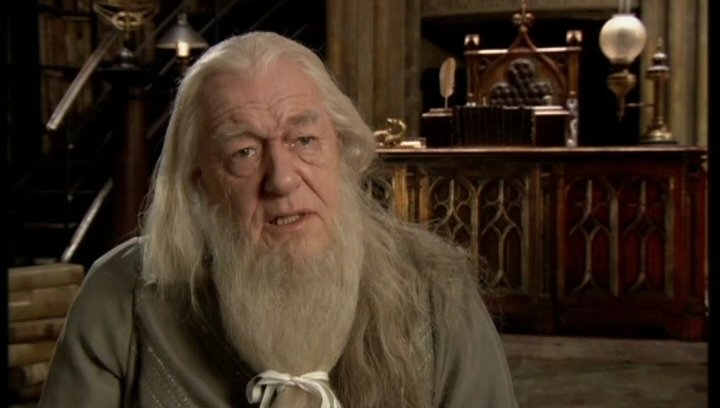 Michael Gambon - Professor Albus Dumbledore - OV-Interview Poster