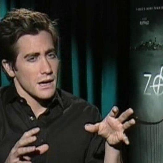 Jake Gyllenhaal (Robert Graysmith) über den wahren Fall ''Zodiac'', über Regisseur David Fincher, über die Zusammenarbeit mit den anderen Schauspieler Poster