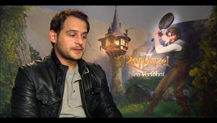MORITZ BLEIBTREU - Flynn / über die Nebenfiguren - Interview Poster
