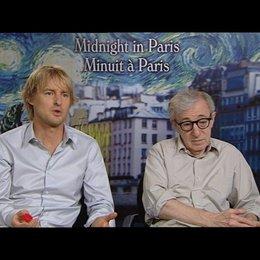 Owen Wilson (Gil) und Woody Allen (Regie) über Liebe - Wilson - OV-Interview Poster