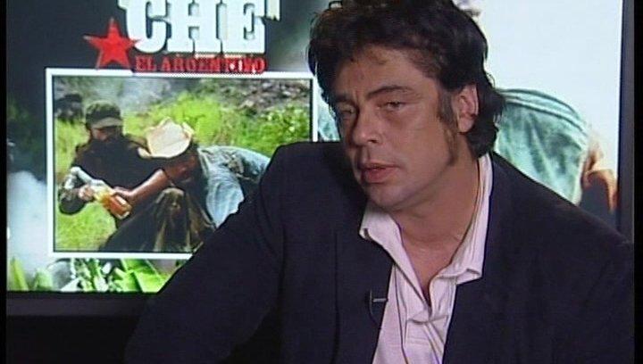 """Benicio del Toro - """"Che Guevara"""" - OV-Interview Poster"""