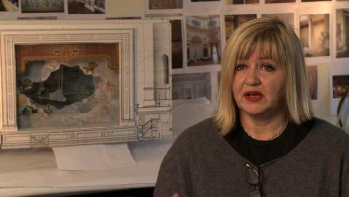 Sarah Greenwood über das Drehbuch - OV-Interview Poster