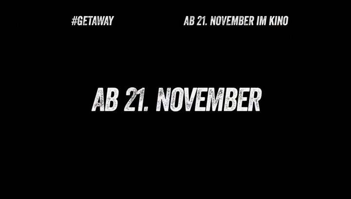 Getaway - Teaser Poster