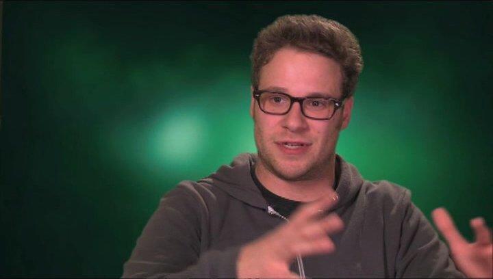 Seth Rogen über Christoph Waltz und seine Rolle Chudnofsky - OV-Interview Poster