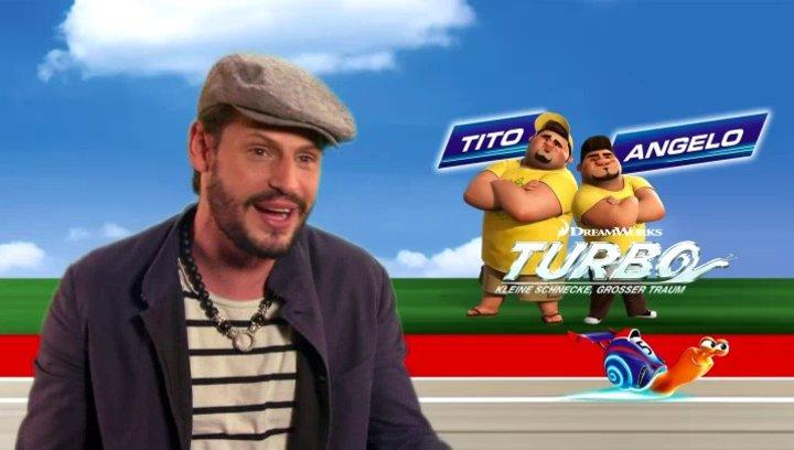 Manuel Cortez - Angelo - über Turbos Traum - Interview Poster