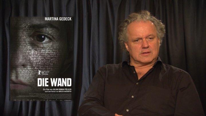 Julian Pölsler - Regisseur - über die Romanvorlage - Interview Poster