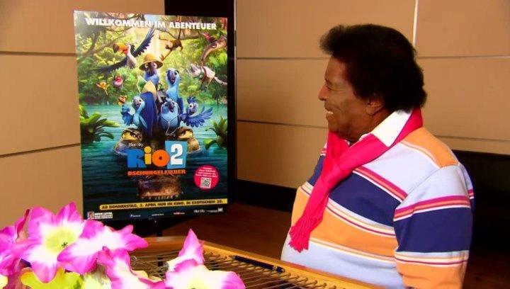 Roberto Blanco - Rafael - über die Familie von Blu und Jewel - Interview Poster