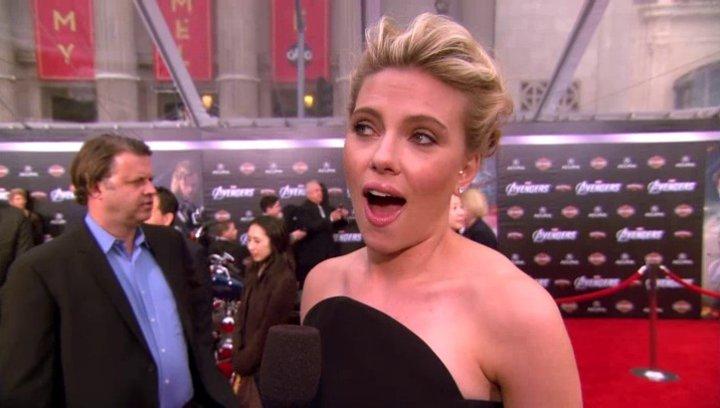 Weltpremiere Scarlett Johansson (Natasha Romanoff - Black Widow) - OV-Interview Poster