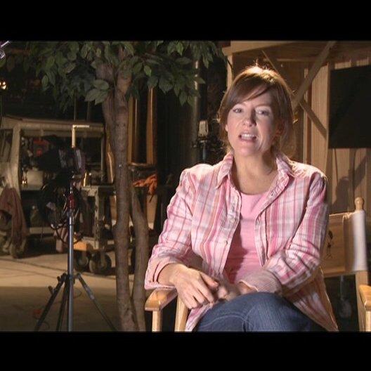 Rachael Harris - Susan Heffley über Greg - OV-Interview Poster