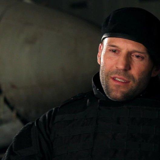 Jason Statham -Lee Christmas- über seine Rolle - OV-Interview Poster