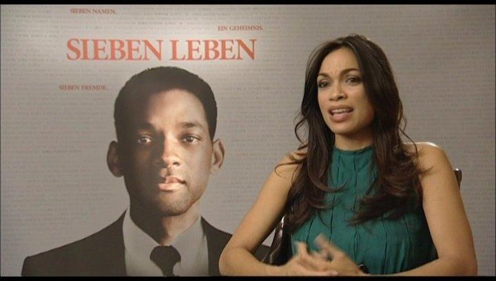 Rosario Dawson - Interview Poster