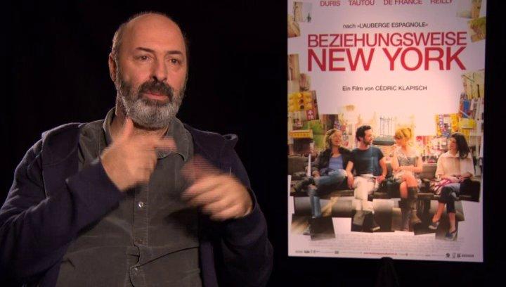 Cedric Klapisch - Regisseur - über die Zusammenarbeit mit Romain Duris - OV-Interview Poster