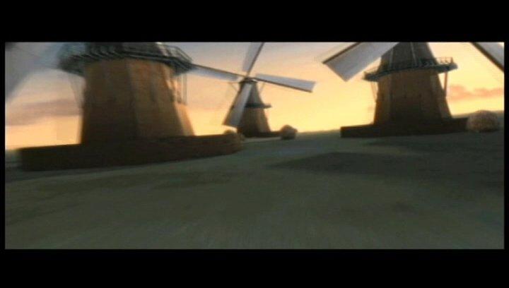 Windmühle - Szene Poster