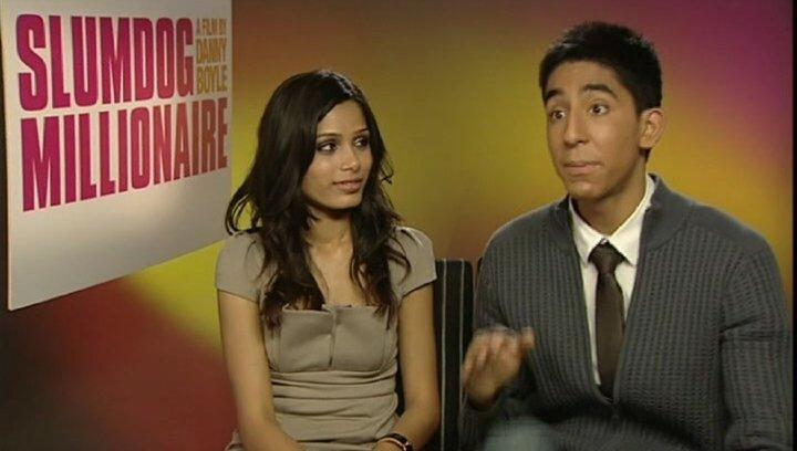 """Dev Patel """"Jamal"""" - über die story und seine Rolle - OV-Interview Poster"""