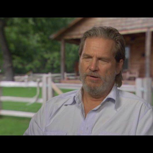 Jeff Bridges (Rooster Cogburn) über den Film - OV-Interview Poster