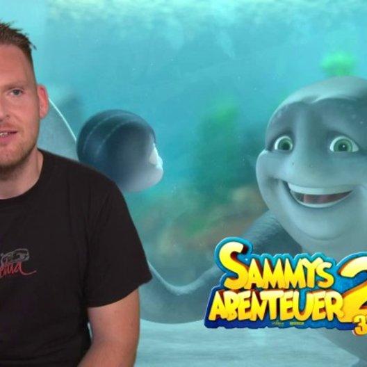Axel Stein - Ray - über die Geschichte von Sammys Abenteuer 2 - Interview Poster