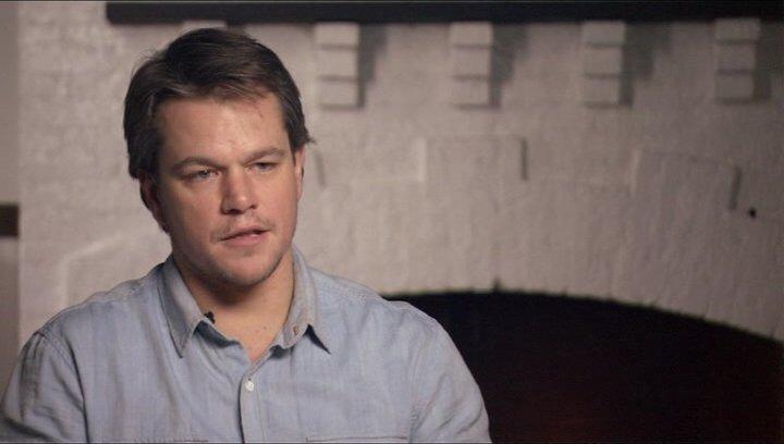 Matt Damon (La Boeuf) über Hailee Steinfeld - OV-Interview Poster