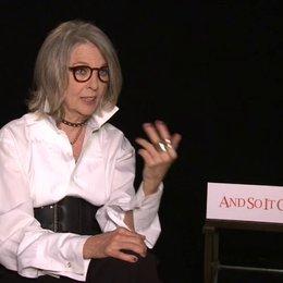 Diane Keaton - Leah - über die erste Zusammenarbeit mit Michael Douglas - OV-Interview Poster