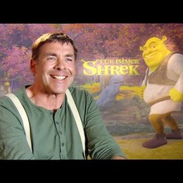 SASCHA HEHN / Shrek - deutsche Stimme über FÜR IMMER SHREK - Interview Poster