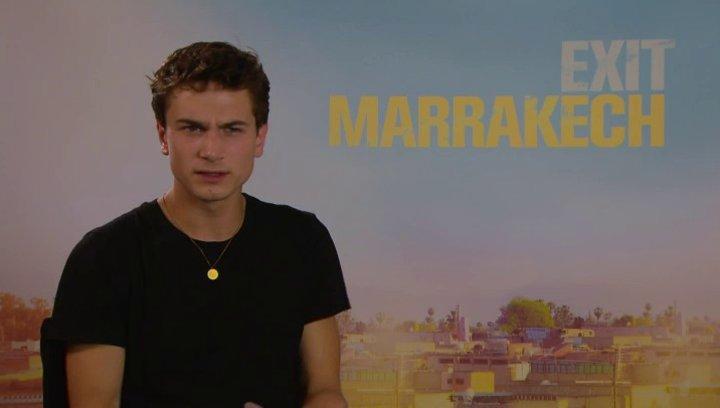 Samuel Schneider - Ben - über die Arbeit in Marokko - Interview Poster