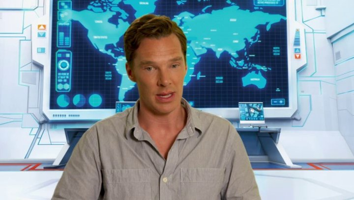 Benedict Cumberbatch über die Animation - OV-Interview Poster