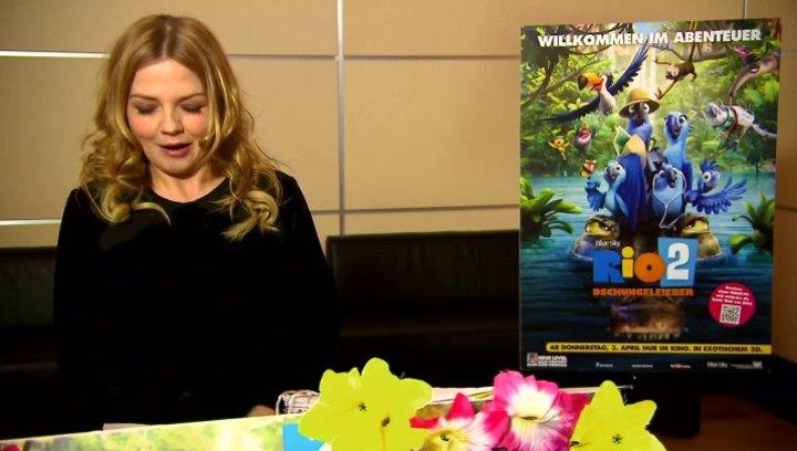 Annett Louisan - Gabi - über Nigel - Interview Poster