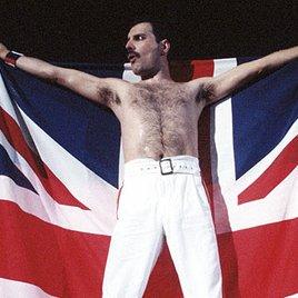 Körper und Geist für Freddie Mercury