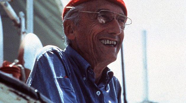Die zwei Gesichter des Jacques Cousteau Poster
