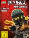 Lego Ninjago Komplettbox - Staffel 1-6 Poster